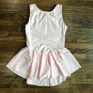 Motionwear Pink Skirted Leotard